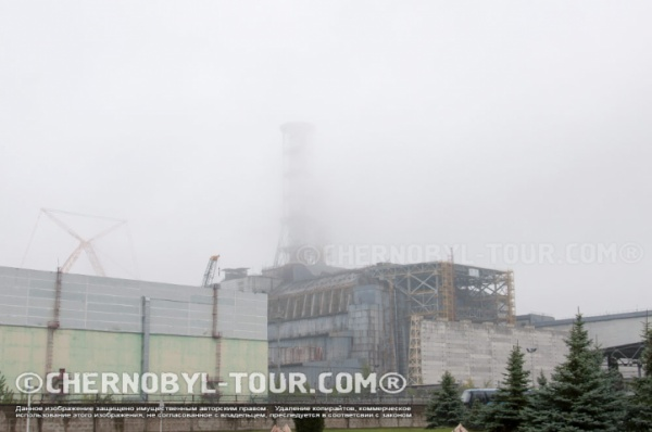 ЧАЭС в тумане